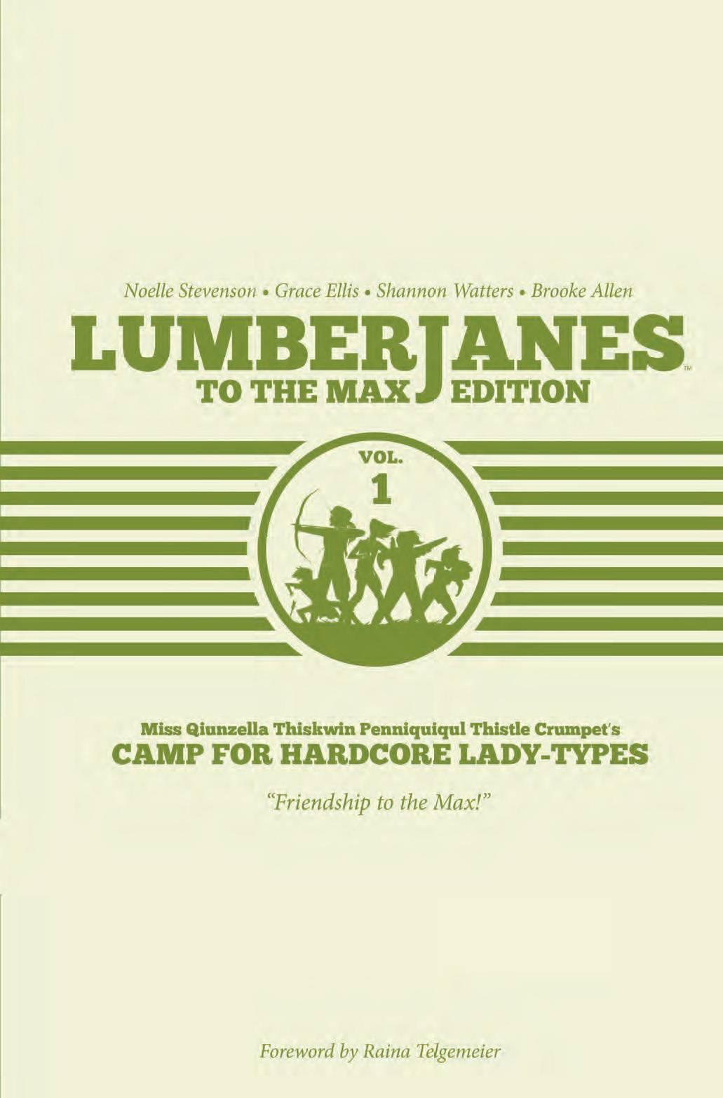 Lumberjanes HC1