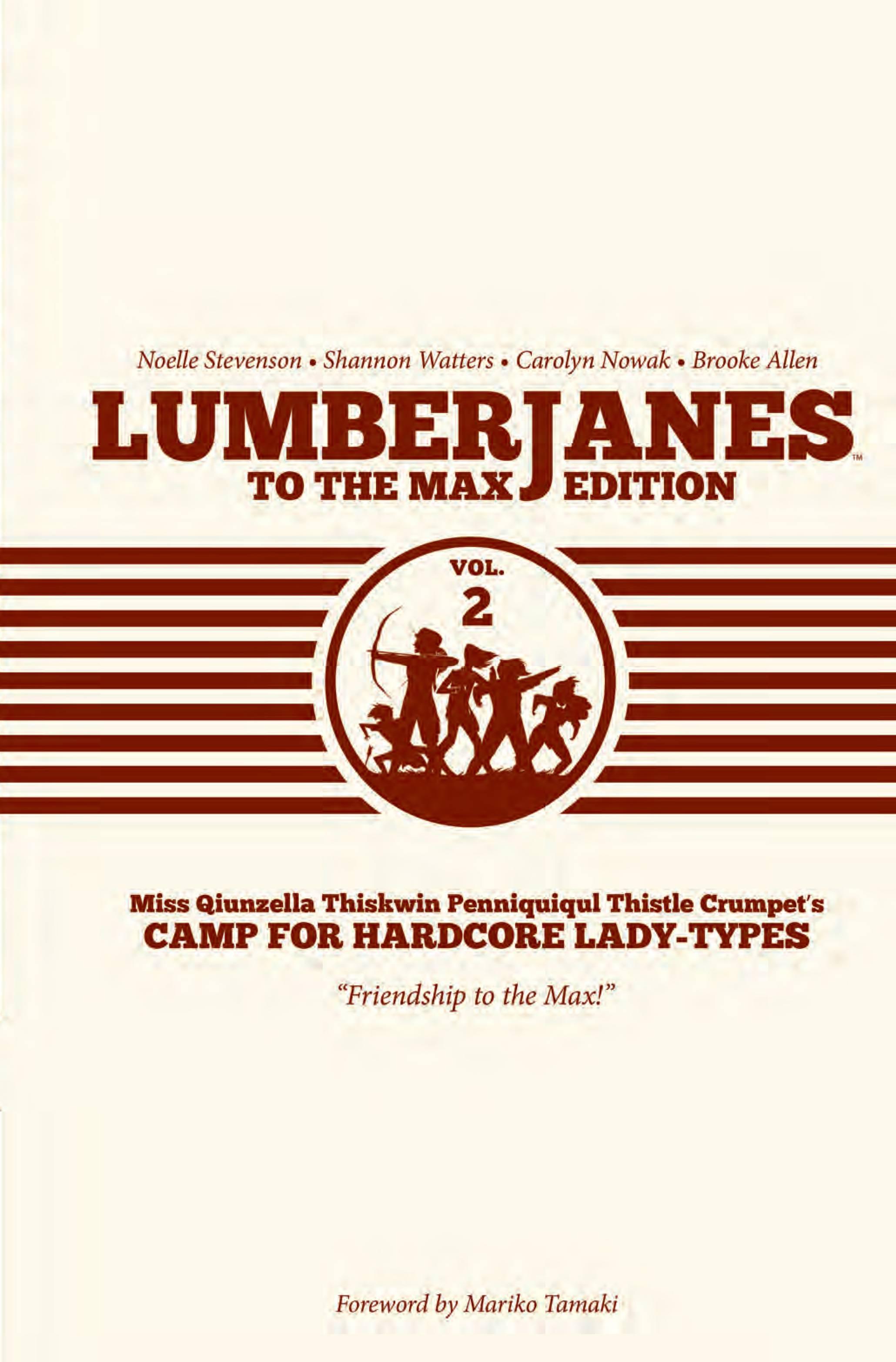 Lumberjanes HC2
