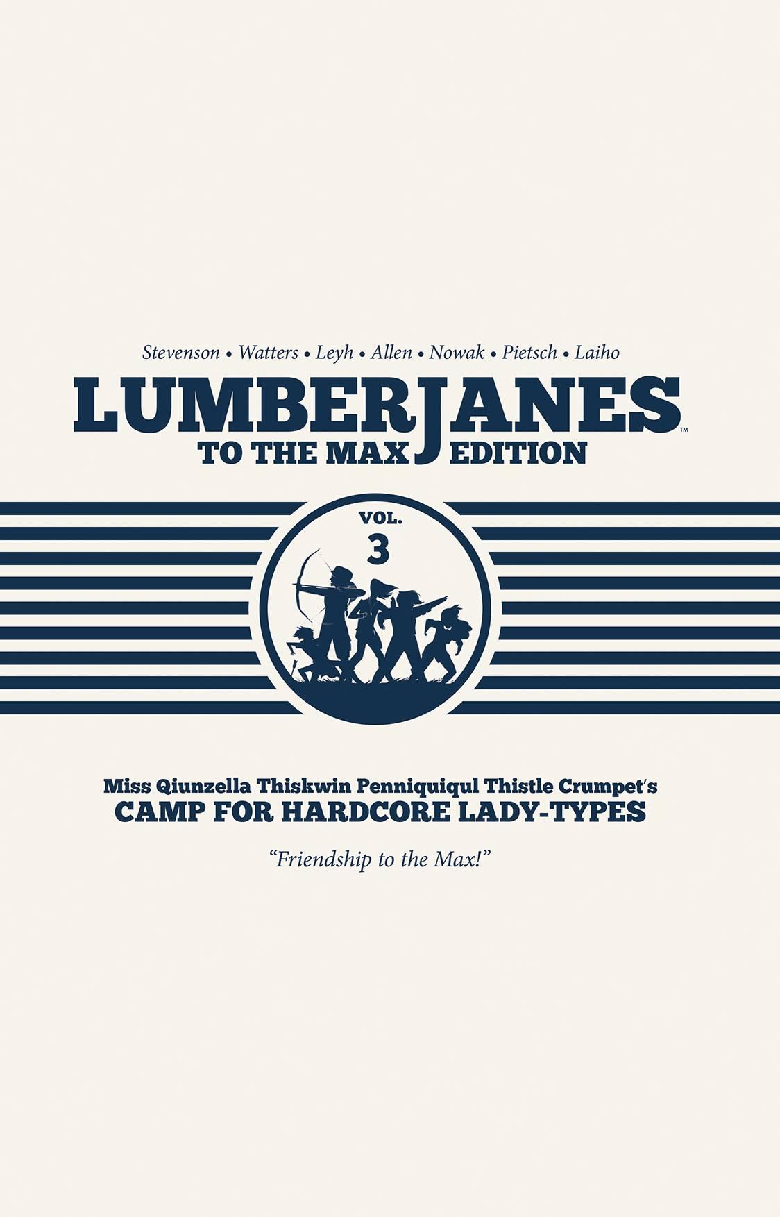 Lumberjanes HC3