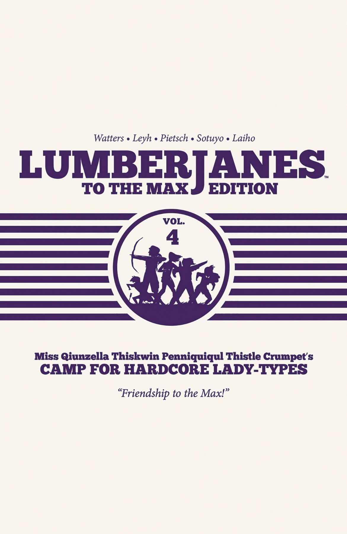 Lumberjanes HC4