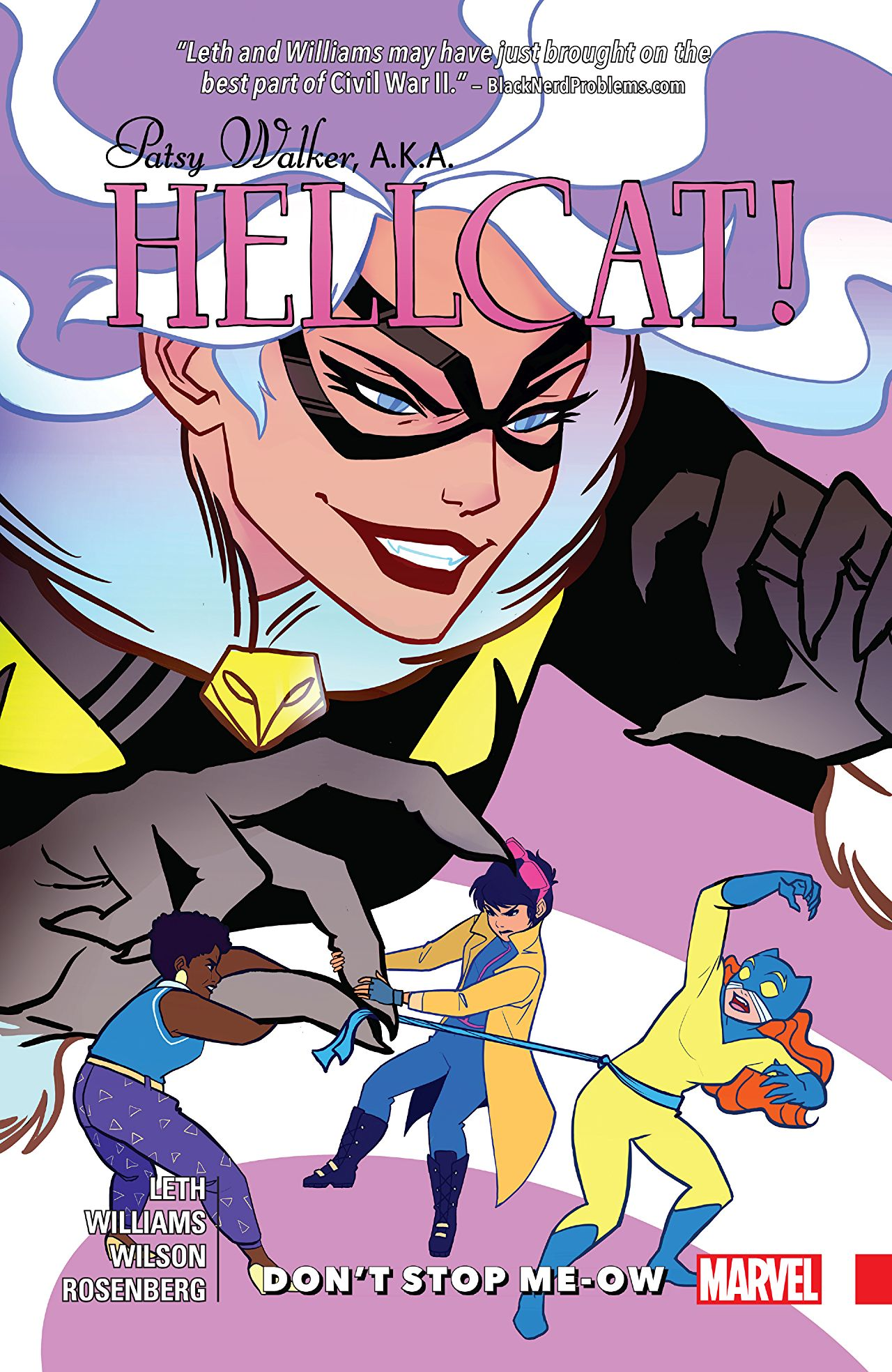Patsy Walker, A.K.A. Hellcat! Vol 2