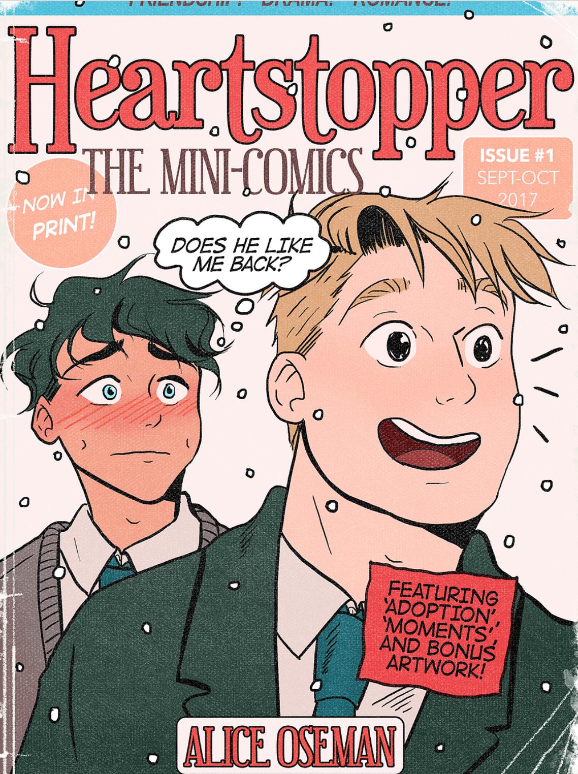 Heartstopper: Mini-Comics